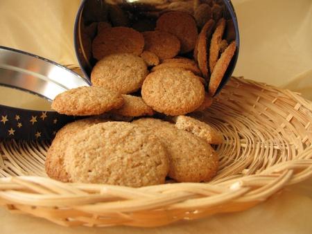 biscuits: Spelt cookies