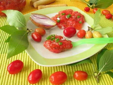chutney: Chutney from cornelian cherries