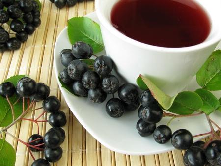 Zwarte appelbes thee