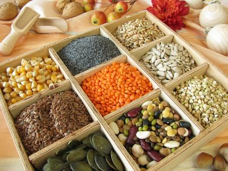 Vak met kok verzamelen en bakken ingrediënten