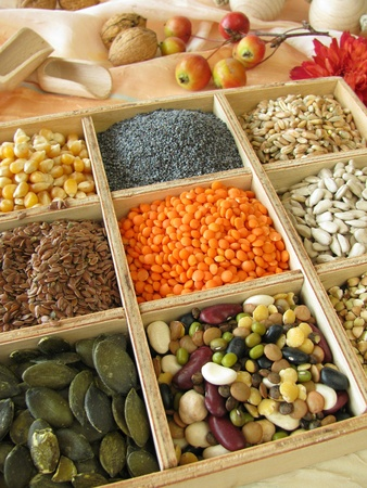 Collecting box with cook and baking ingredients Stock Photo - 10833722