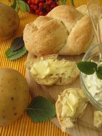 Potato yeast braid photo