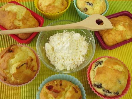 coeliac: Corn flour and gluten-free cakes