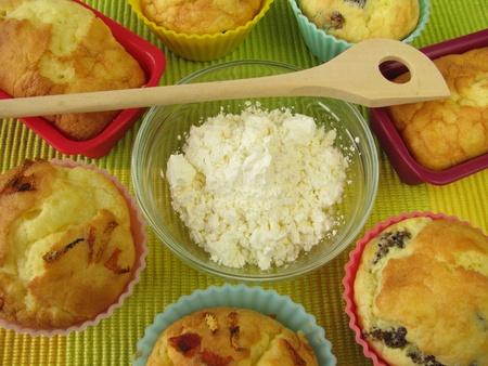 Maïsmeel en glutenvrije gebak