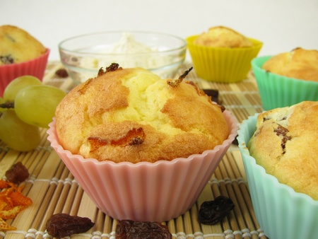 Gluten-free muffins from corn flour photo