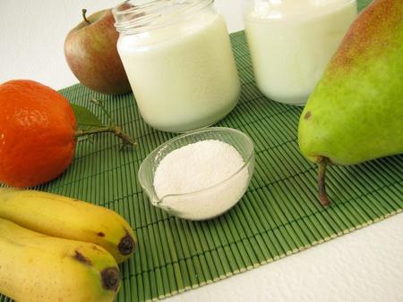 Probiotica en yoghurt