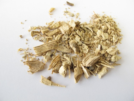 Kava root, Kava-Kava rhizoma Stock Photo