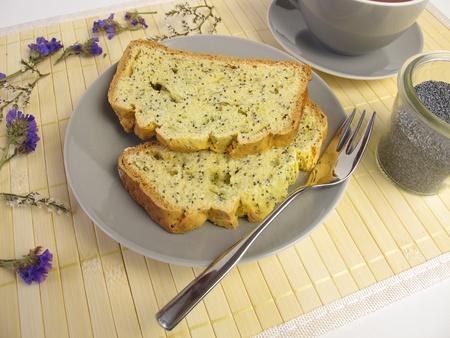 poppy seed: Poppy seed cake