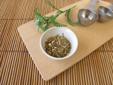 yarrow: Common yarrow, Millefolii herba