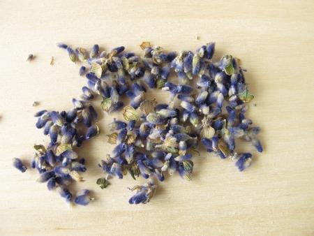 lavender flowers: Lavender flowers, Lavandulae flos Stock Photo