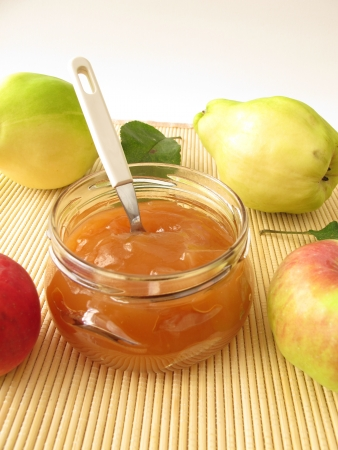 quince: Jam with quince and apple