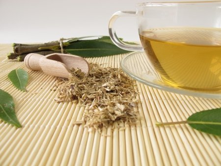 Tea with willow bark