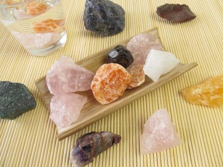 calcite: Gemstone water