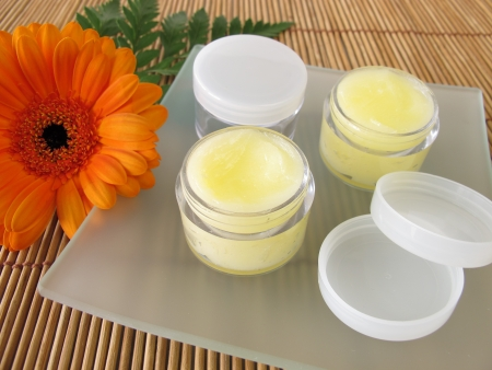 Lip balm with honey photo