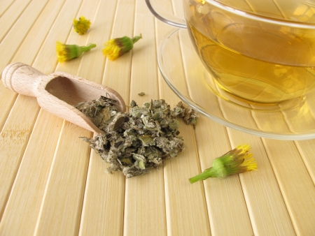 cold remedy: Tea with coltsfoot