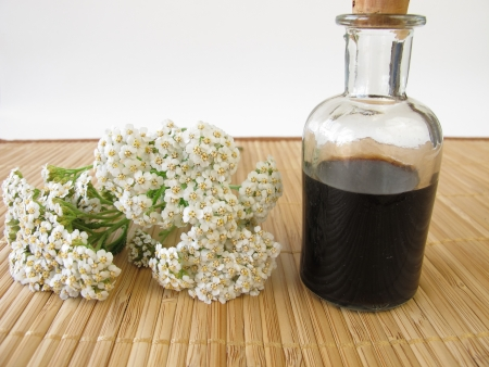 Herbal tonic with yarrow photo