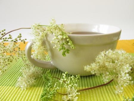 Tea with meadowsweet