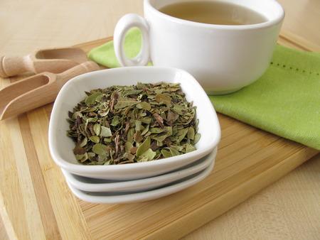 De bladeren van bearberry thee
