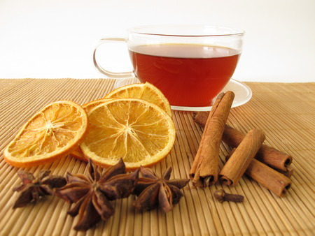 rooibos tea: Rooibos tea with spices