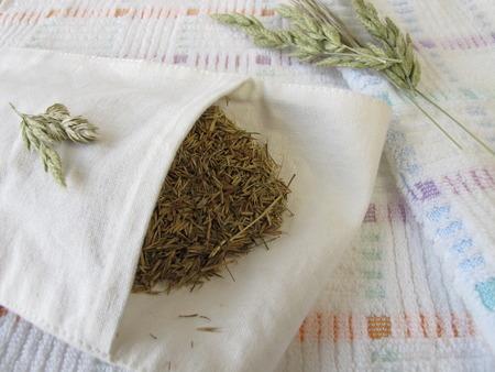 sachets: Hayflower bag  Stock Photo