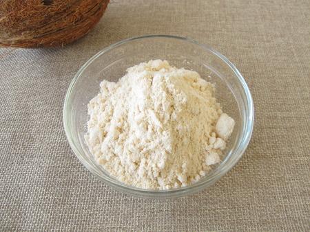 Coconut flour  Stock Photo
