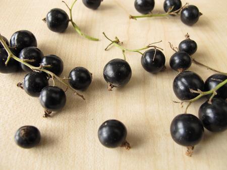 black currants: Black currants
