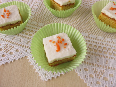 carrot cake: Carrot cake Stock Photo