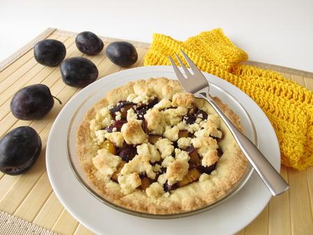 miettes: G�teau aux prunes et des miettes