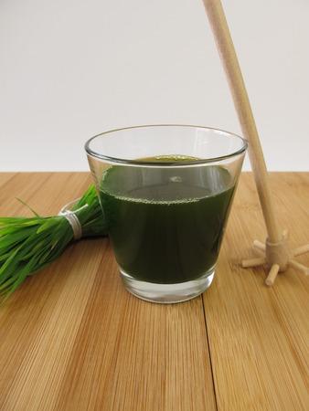 chlorophyll: Wheatgrass juice