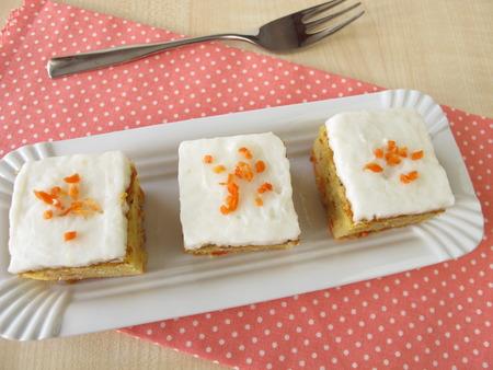 carrot cake: Sweet carrot cake