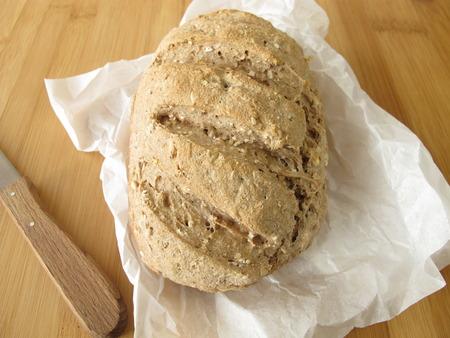 whole grain: Whole grain bread Stock Photo