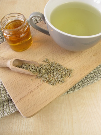 unroasted: Green coffee with honey