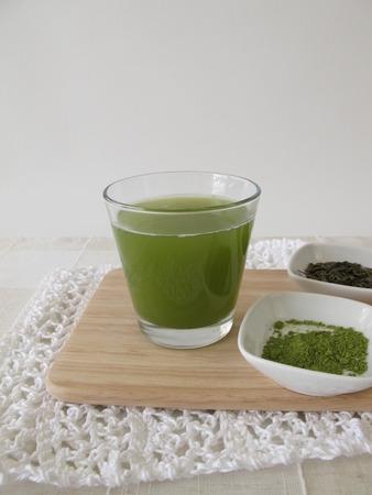 sencha: Sencha green tea with matcha