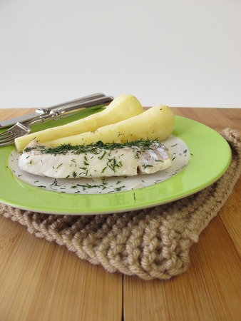 parsnips: Haddock and parsnips