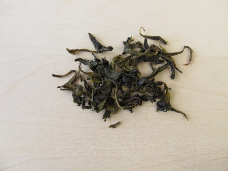 ceylon: Loose ceylon royal silver white tea Stock Photo