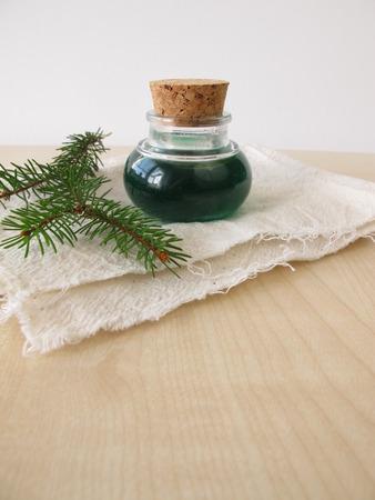 bath essence: Spruce needle oil