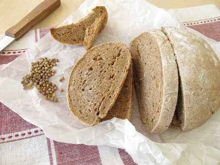 culantro: Pan de Granja con cilantro