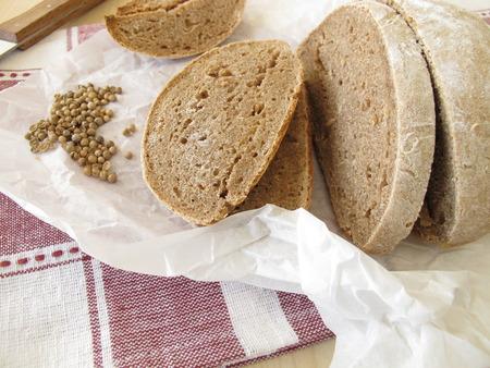 cilantro: Pan de Granja con cilantro