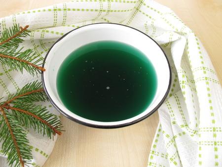 bath additive: Spruce needles steam bath