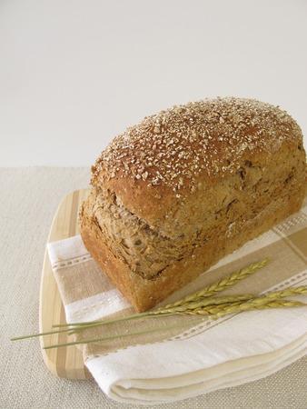 spelt: Homemade spelt bread Stock Photo