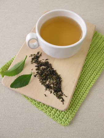 darjeeling: Darjeeling green tea and stevia