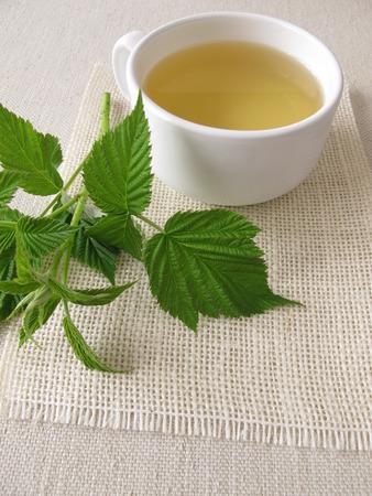 blad thee van de framboos