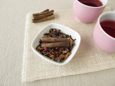 licorice: Fruit tea with licorice root