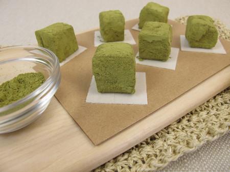 confection: Green Matcha confection