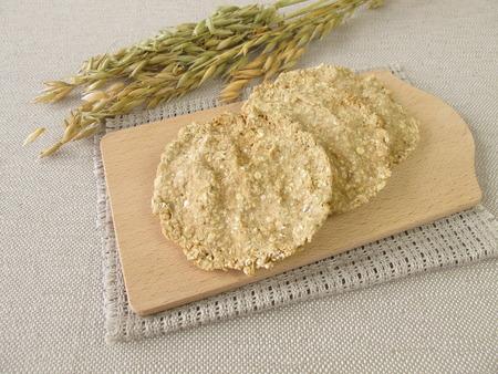 round: Round oats crispbread
