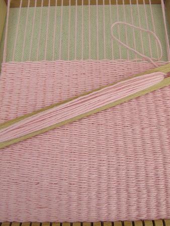 loom: Woven in weaving loom