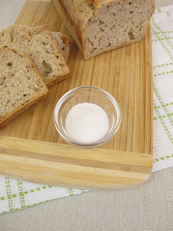 roughage: Bread baked with inulin