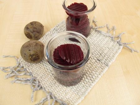 pickles: encurtidos de remolacha