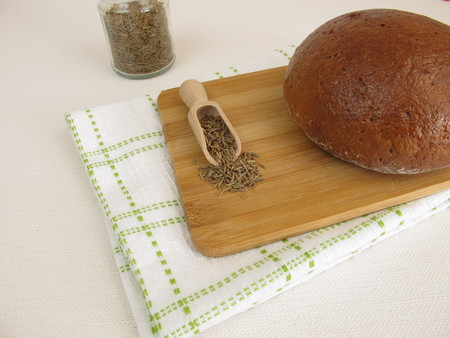 caraway: Caraway bread - Rye bread with caraway seeds