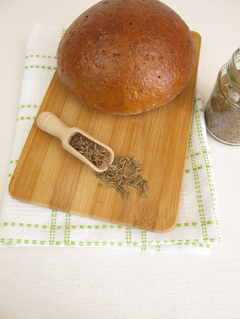 caraway: Caraway bread - Rye bread with caraway seeds